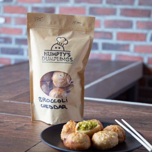 Broccoli & Cheddar Dumplings