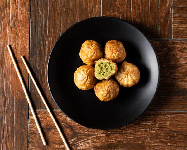 Edamame Dumplings