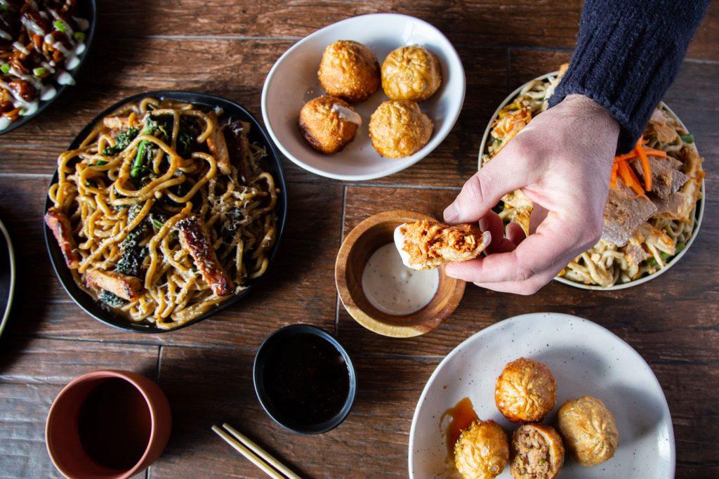 dumplings catering