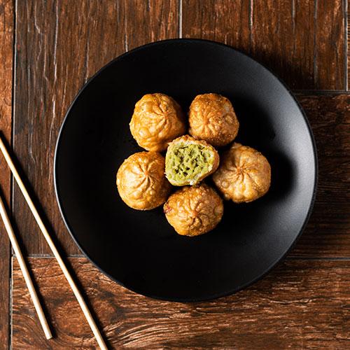 humptys edamame dumplings